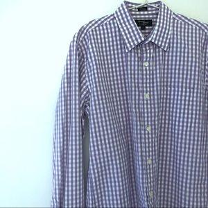 J. Crew Thompson point-collar dress shirt gingham